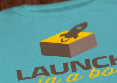 Launch in a Box Tee